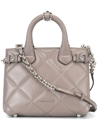 quilted purple pink bag