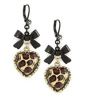 jewels,earrings,heart earrings,bow