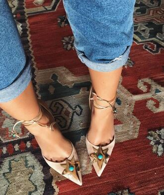 shoes pumps instagram stars sandals nude heels