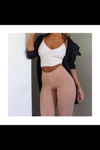 leggings high waisted jeans