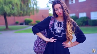 dress peasant top peasent dark blue dress detail cute vintage tumblr sierramariemakeup sierra furtado pretty flowy perfect