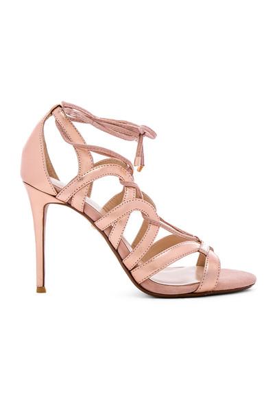 RAYE heel metallic copper