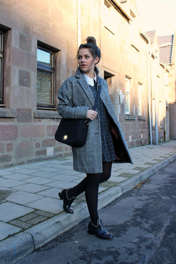 the little magpie dress coat shoes bag