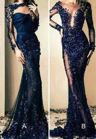 dress gorgeous dress blue dress navi blue
