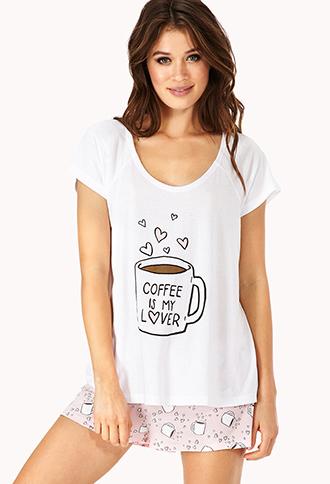 Coffee lover pj set