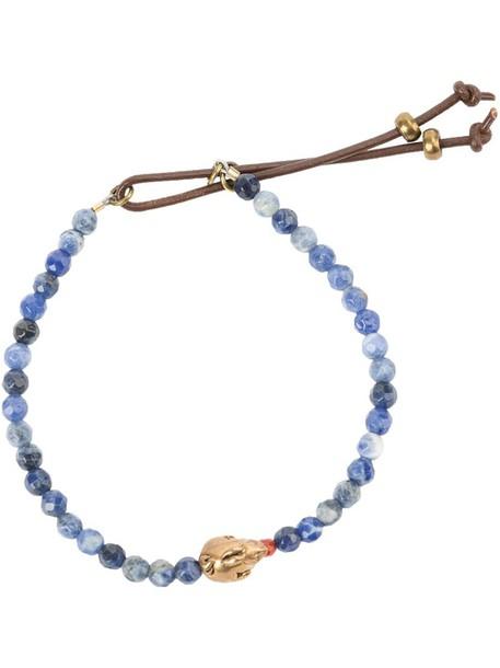 beaded bracelet women beaded yellow orange jewels