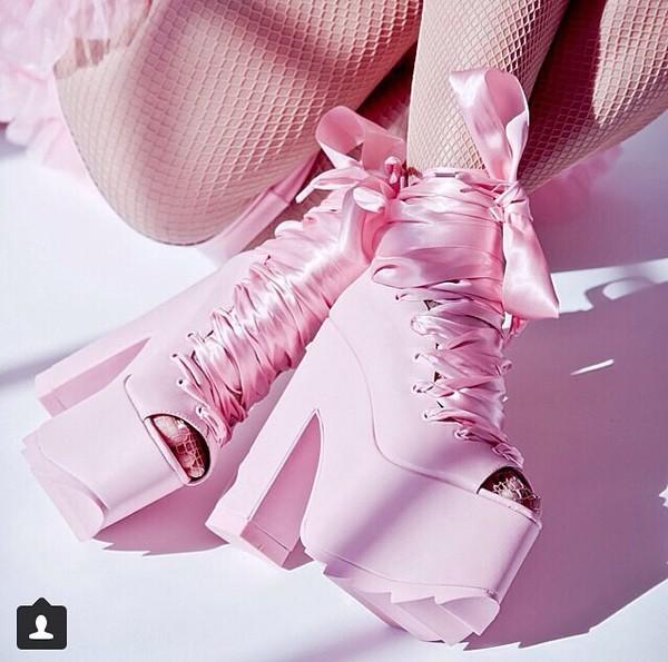 high heels pink high heels bow heels heels rose