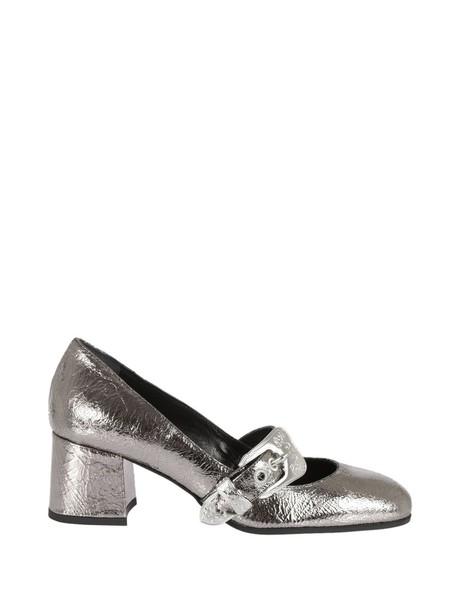 McQ Alexander McQueen pumps silver shoes
