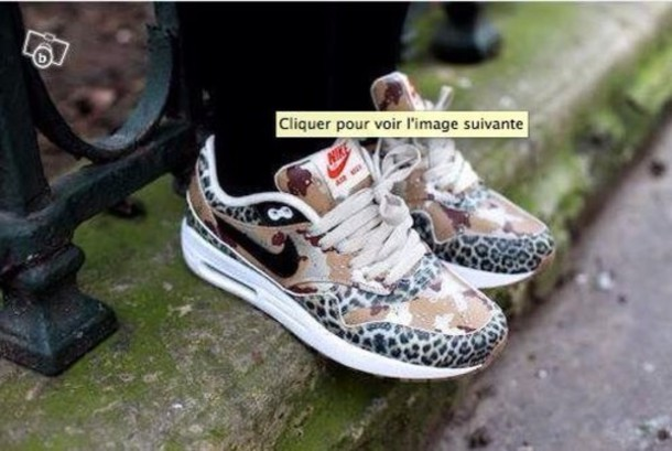 nike air max 1 leopard grey