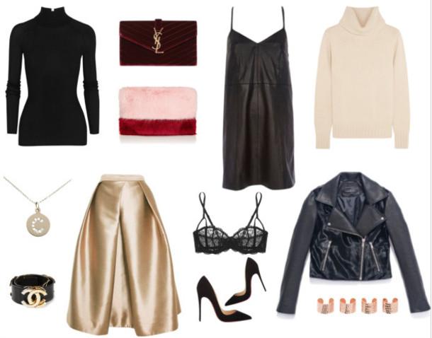 hallie daily blogger bag belt underwear jacket jewels