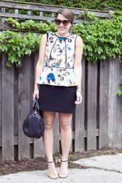 sequins & stripes,dress,skirt,t-shirt,shoes,bag,sunglasses,jewels