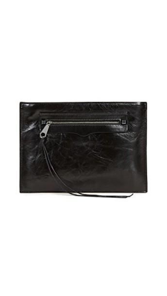 Rebecca Minkoff clutch black bag
