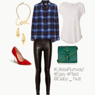 blouse leggings t-shirt shoes bag lookbook chic rock grunge glamour