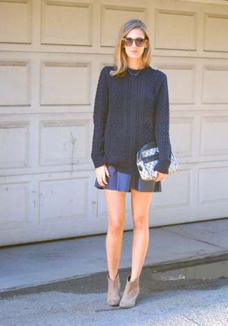 see jane sweater skirt bag shoes