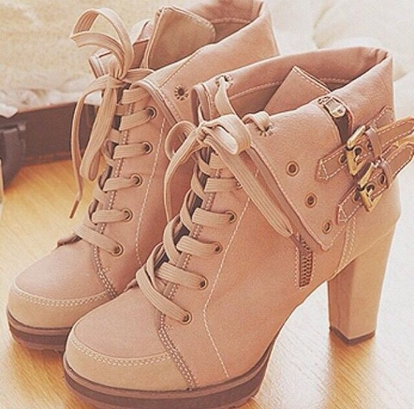 shoes boots beige shoes strap high heels