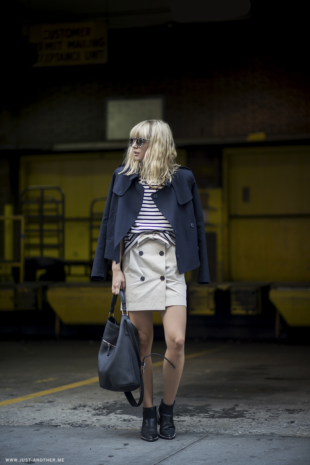 THE TRENCH SKIRT - Just Another Fashion Blog