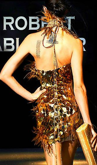 dress gold dresses sparkly dress shimmer dress prom dress clubwear sexy dress sexy party dresses gold sequins short gold prom dress short golden dress tube top tube dresses tight short dress tubedress