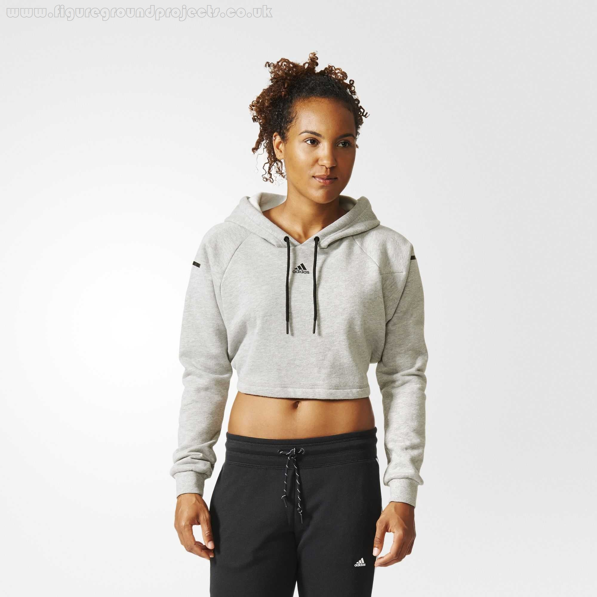 adidas sweatshirt grey womens