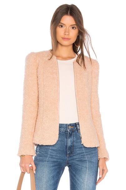Rebecca Taylor jacket fluffy pink
