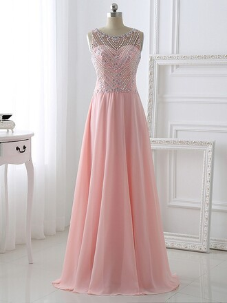 dress prom prom dress pink pink dress pastel pastel pink crystal sweet sweetheart dress chiffon chiffon dress floor length dress fashion fashionista style stylish wow amazing cool lovely love pretty maxi maxi dress long dress long fabulous cute cute dress special occasion dress princess dress bridesmaid dressofgirl