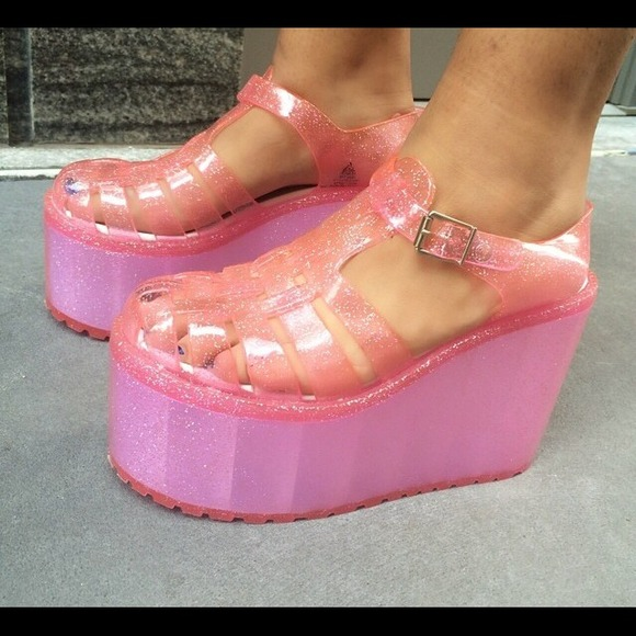 a268da548b73 UNIF - UNIF HELLA JELLIES SIZE 9 PINK from ! erin s closet on ...