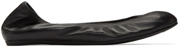lanvin classic flats black shoes