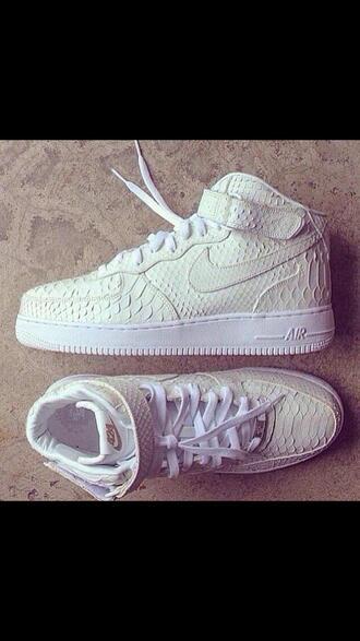 snake shoes nike white air force girl skin nike air snake skin print