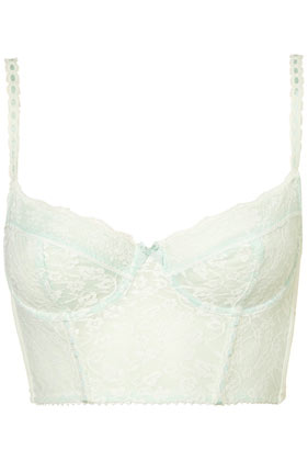 Topshop - Mint Leafy Lace Bralet customer reviews - product reviews - read top consumer ratings