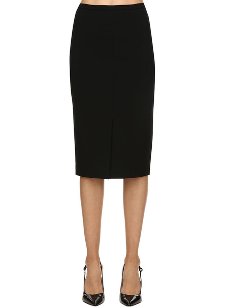 MAX MARA Cady Pencil Skirt in black