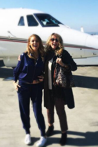pants jacket blake lively navy instagram