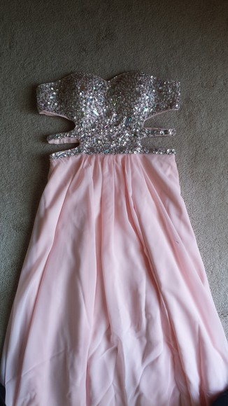 sweatheart prom pink prom dress chiffon beading beaded prom dress long prom dresses silver