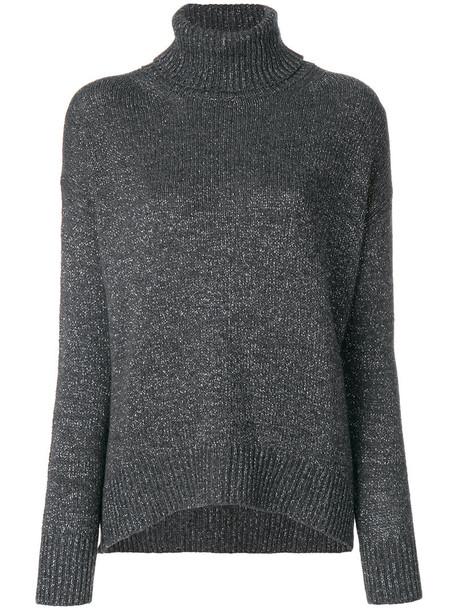 ETRO jumper metallic women grey sweater