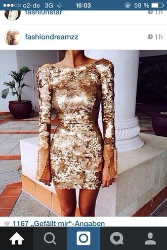 dress gold prom dress prom