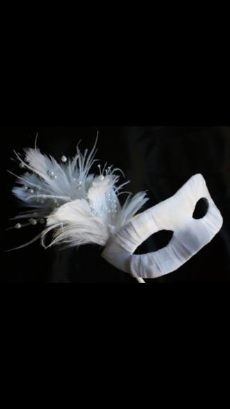 hair accessories mask masquerade ball mask girly