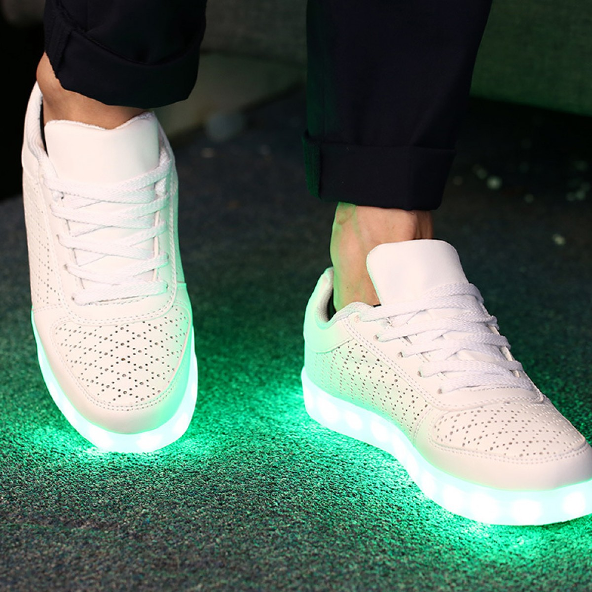 release date bdc15 42cf2 Buy LED Light Up Shoes Lighting Sneaker Sports Shoes Adult Light Up Shoes  Women Shoes under ...