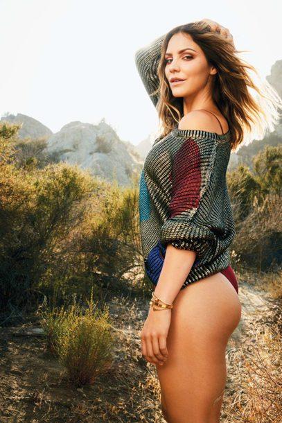 sweater bikini bottoms editorial katharine mcphee