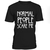 Normal people scare me T-shirt - teenamycs