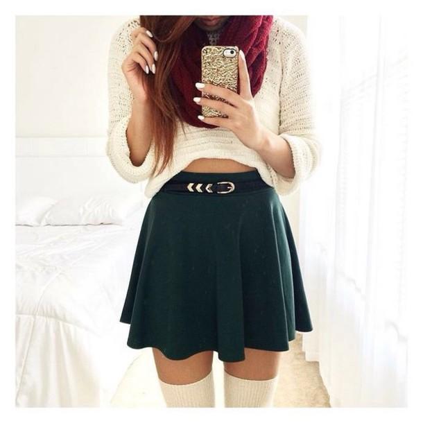 Skirt, $13 at beautifulhalo.com , Wheretoget