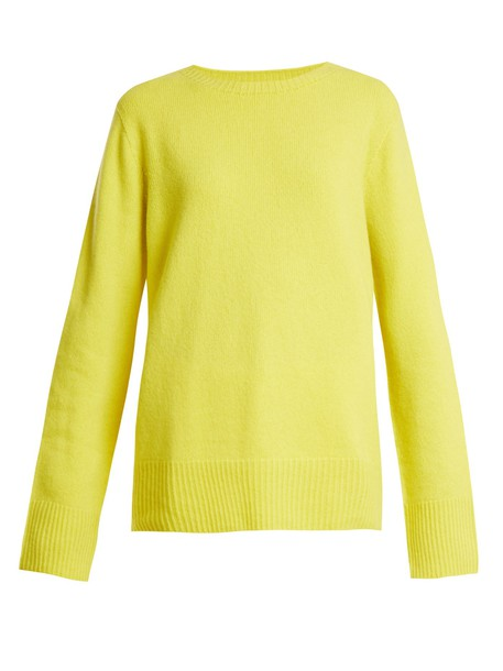 sweater wool yellow