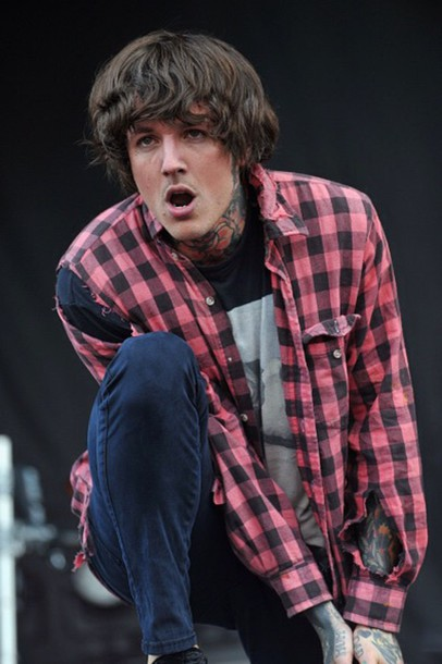 shirt oliver sykes pale shirt