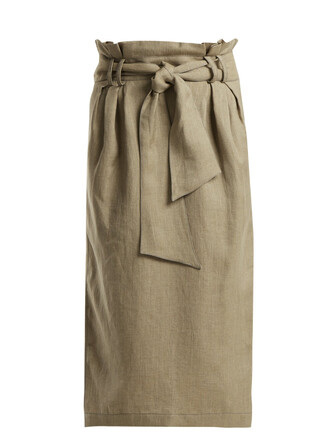 skirt pencil skirt beige