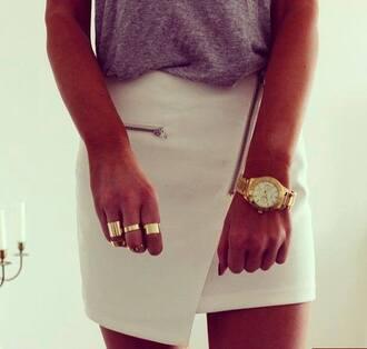 skirt zipper skirt with zipper asymmetrical