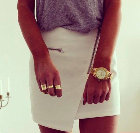 skirt zipper skirt with zipper asymmetrical skirt
