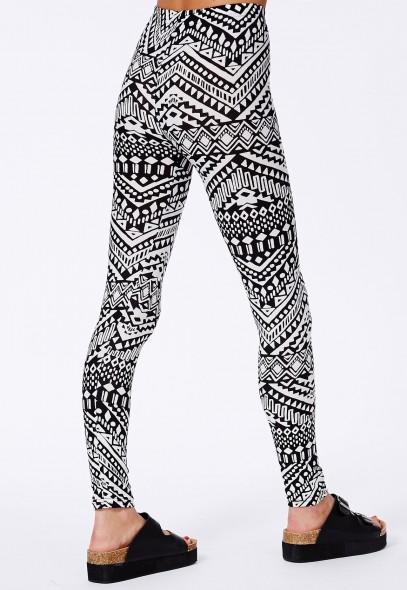 Missguided - Denisa Aztec Print Leggings