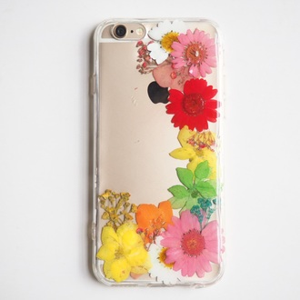 phone cover flowers floral colorful cute iphone iphone case iphone cover cool daisy pink flowers