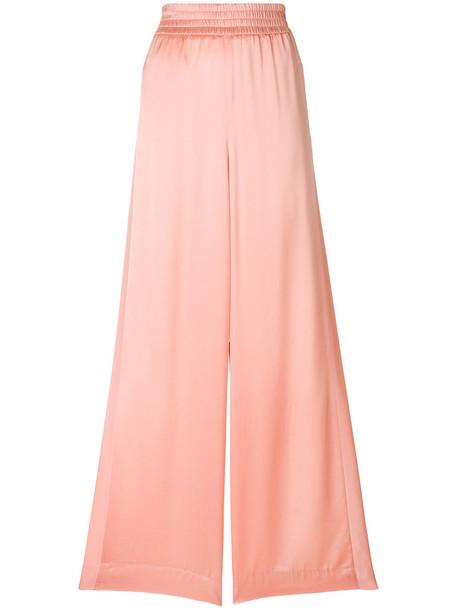 GOLDEN GOOSE DELUXE BRAND women purple pink pants