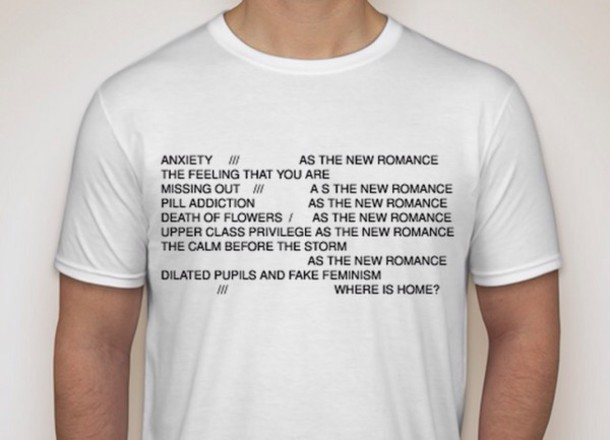 shirt quote on it poet white t-shirt graphic tee