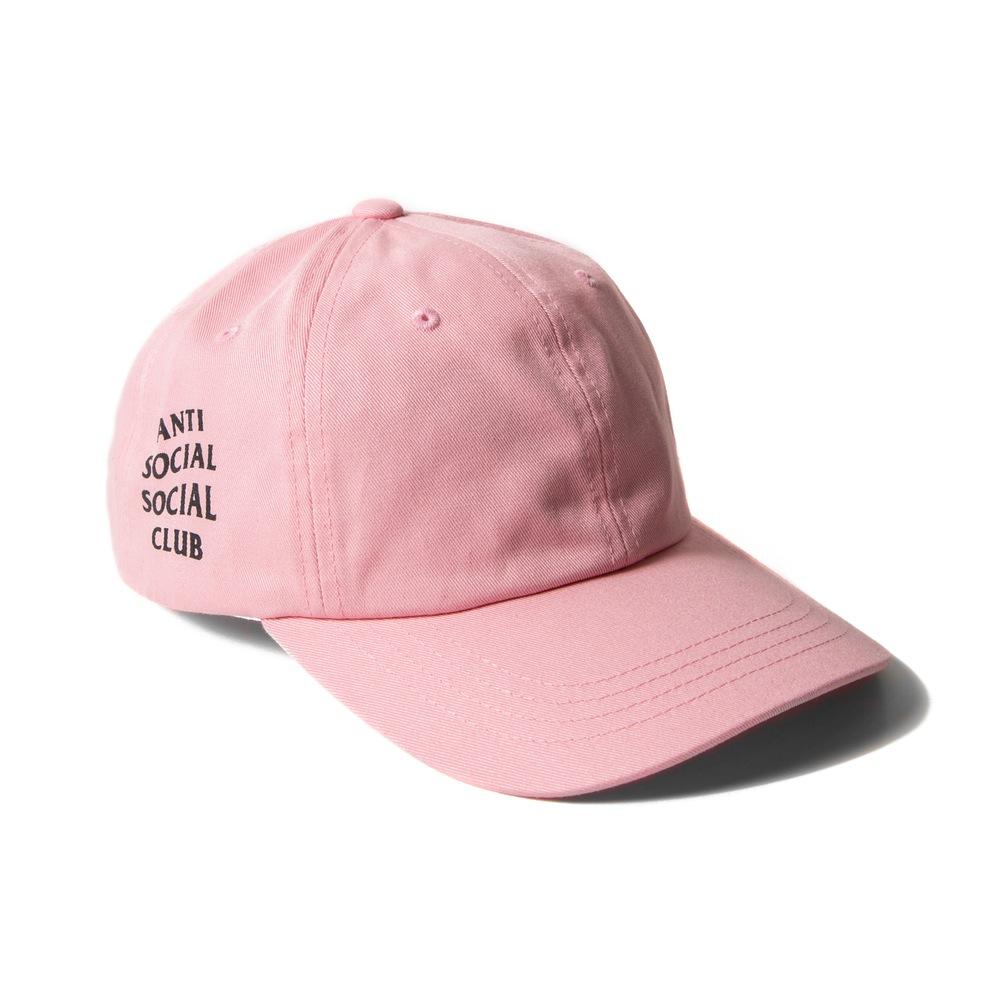 ANTI SOCIAL CLUB WEIRD CAP PINK