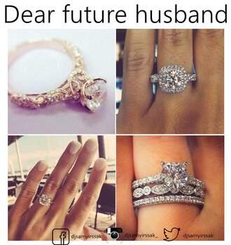 jewels ring cute girly beautiful shiny dimonds dimond rings
