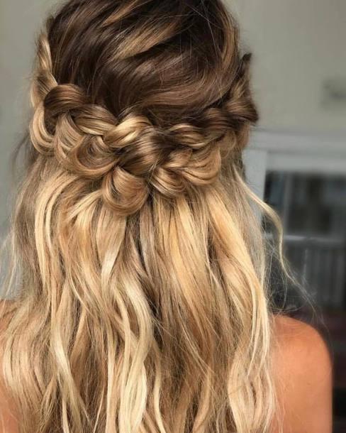 Hair Accessory Tumblr Braid Hair Hairstyles Long Hair Blonde